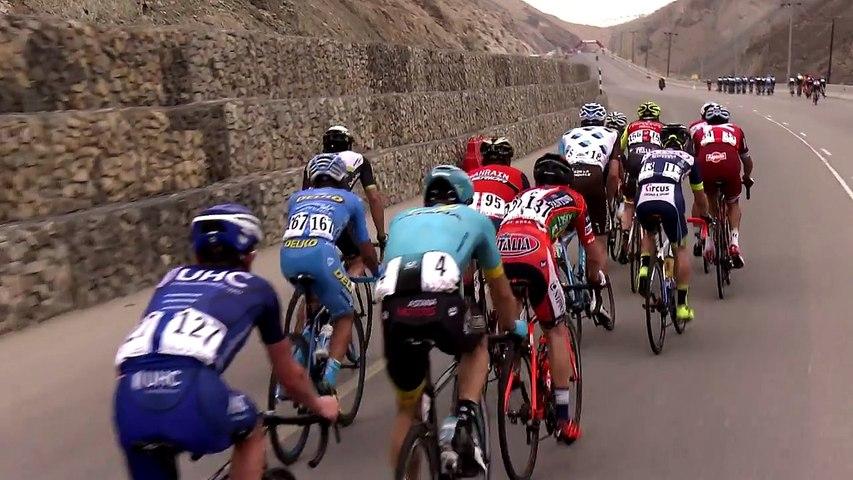 Last kilometer - Stage 2 - Tour of Oman 2017