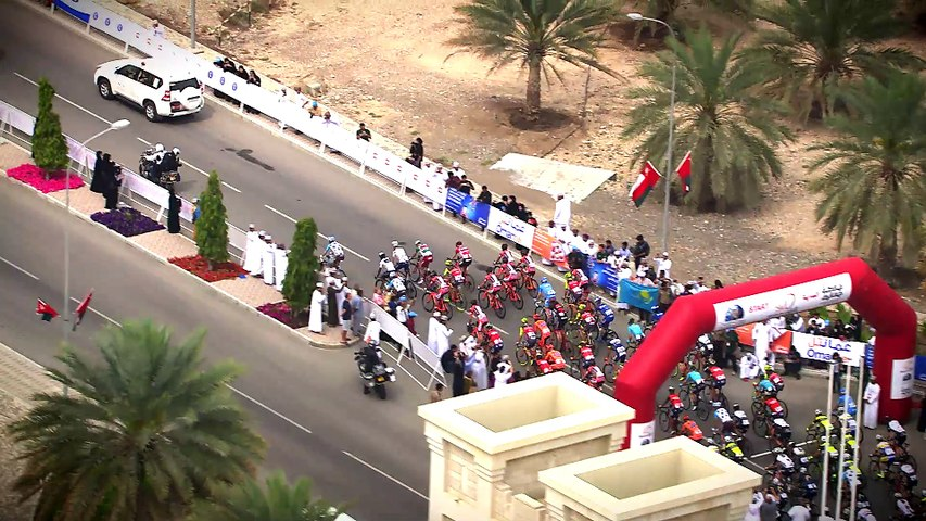 Summary - Stage 3 - Tour of Oman 2017
