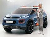 A bord du concept Citroën C-Aircross 2017