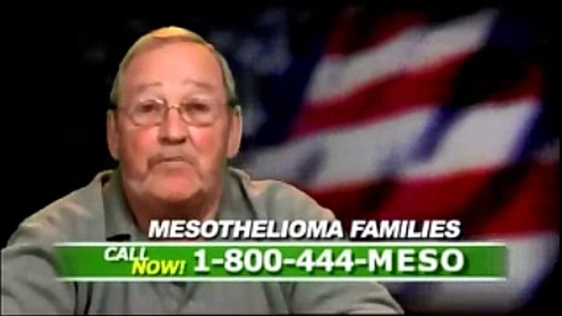 My name is Doug, and i have mesothelioma for 10 minutes