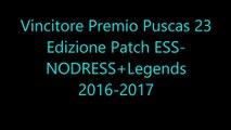 Vincitore Premio Puscas 23 Edizione Patch ESS-NODRESS+Legends 2016-2017