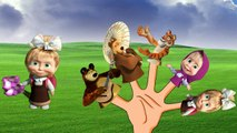El Dedo de la Familia Globo Familia Rima de cuarto de niños #6 | Masha y el Oso Dedo de la Familia de las Canciones