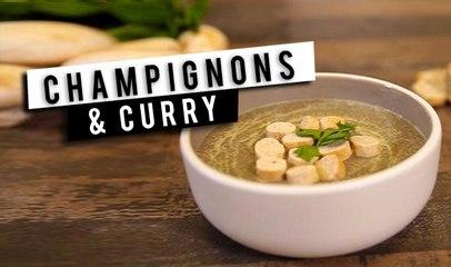 Soupe : Champignons et curry