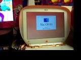 iBook Clamshell G3 Tangerine vintage 1999
