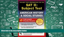 Audiobook  SAT II: United States History (REA)  -- The Best Test Prep for the SAT II (SAT PSAT ACT