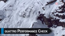 Quattro Performance Check with Leo Slemett - Chamonix-Mont-Blanc staged in Vallnord-Arcalís FWT17