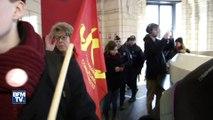 Casseroles, porte dérobée et visite fermée à la presse: la visite chahutée de Fillon à Tourcoing