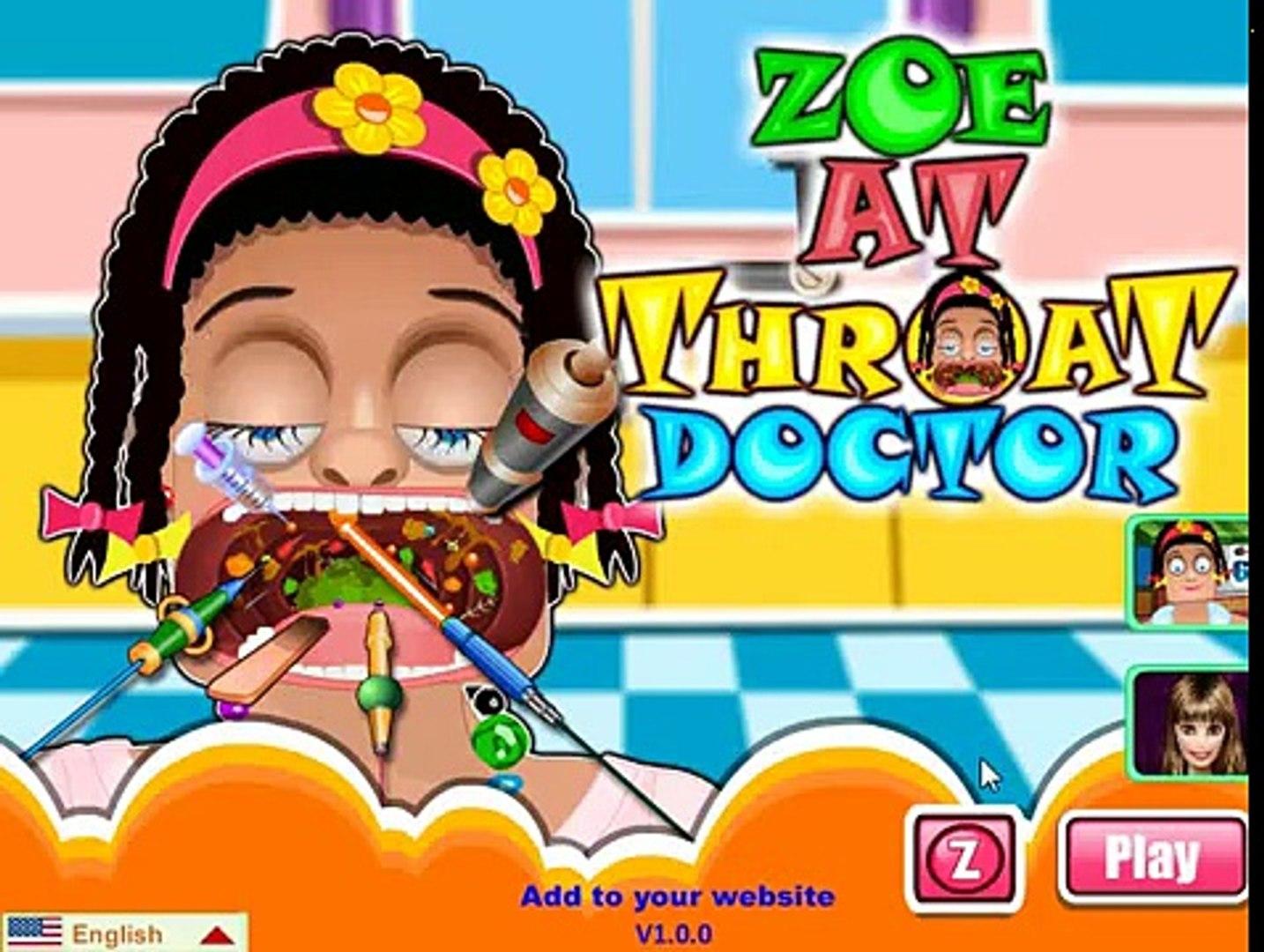 Мультик: Zoe At Throat Doctor / Зоя лечит горло у доктора