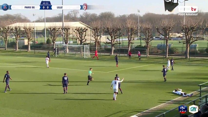 Vendredi 17/02/2017 à 14h45 - Paris SG - LOSC Lille - Coupe Gambardella Crédit Agricole - 16èmes de finale