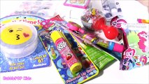 SHOPKINS CASE Bonanza! MLP Push POP Lip BALM Twozies Baby Bottle Pop Candy Rattle! Shopkin