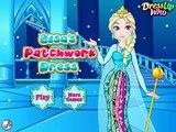 Congelados Elsa del Patchwork Vestido ● Congelados de la Princesa de Disney ● parte Superior de Bebé, Juegos Para Niños 20