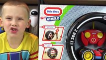 Toy Cars RC Wheelz Tire Twister Remote Control Race Car by Little Tikes Kinder Playtime