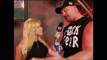 Terri Runnels, Stone Cold Steve Austin and Eric Bischoff Backstage Segment