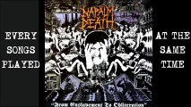 NAPALM DEATH - Every songs played at the same time (Grindcore, harshnoise)