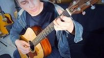 Let It Go-Frozen theme in a wonderful way on guitar- by Fábio Lima |Tema de Frozen de um jeito maravilhoso no violão-Fábio Lima