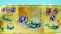 KINDER SURPRISE EGGS | Rico and Shortfuse | The Penguins of Madagascar |RED TRUCK