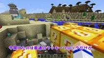 【Minecraft】ダイヤモンドラッキーブロックの家を壊したら�