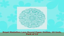 Royal Medallion Lace Round Paper Doilies 10Inch Pack of 12 2cc0540f