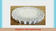 Omin White Round Paper Doilies Lace Design 8 Inch Pack of 250 492519fb