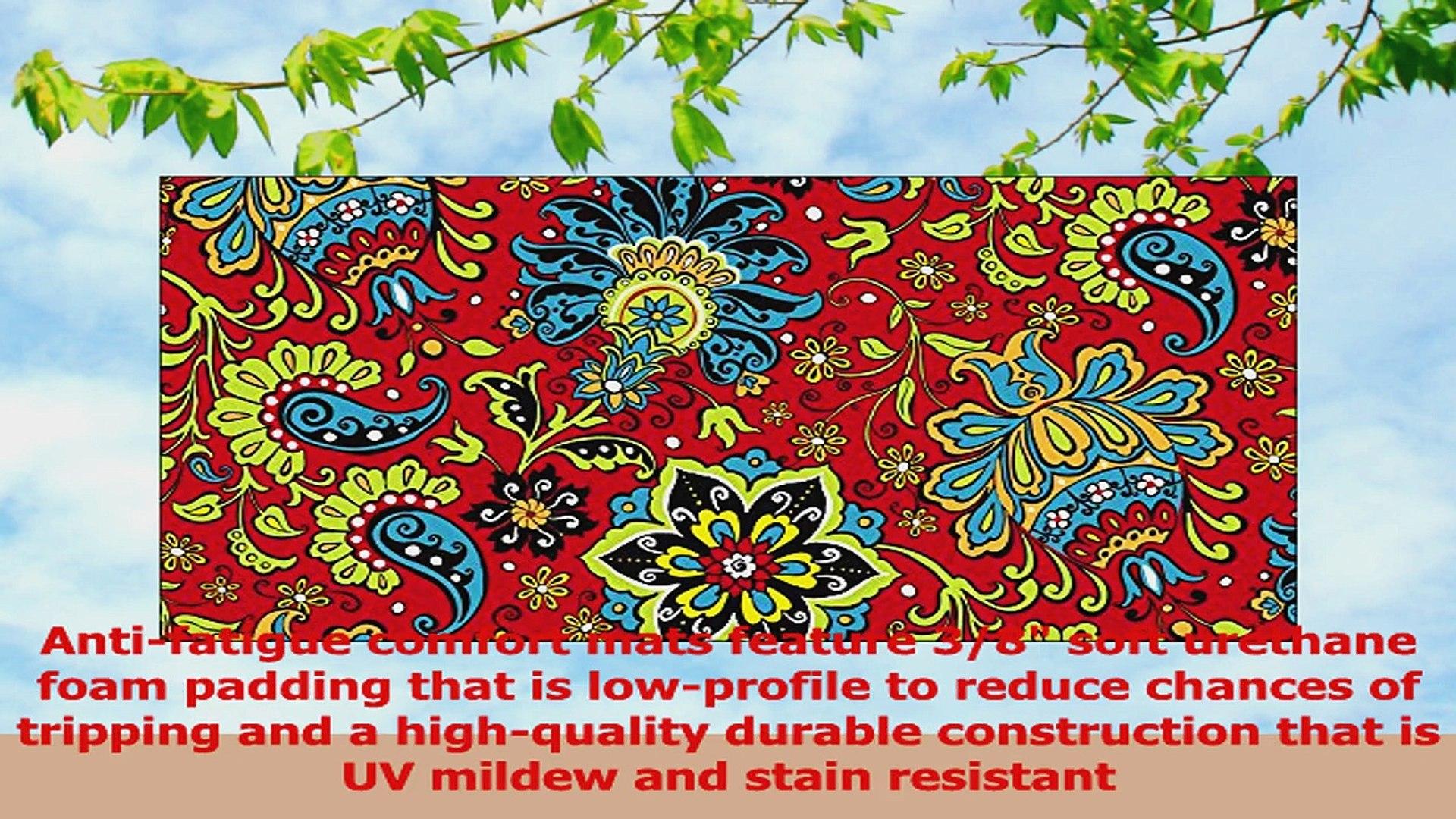 Toland Home Garden Gypsy Garden Comfort Soft Step Designer Mat 810009 421eb342