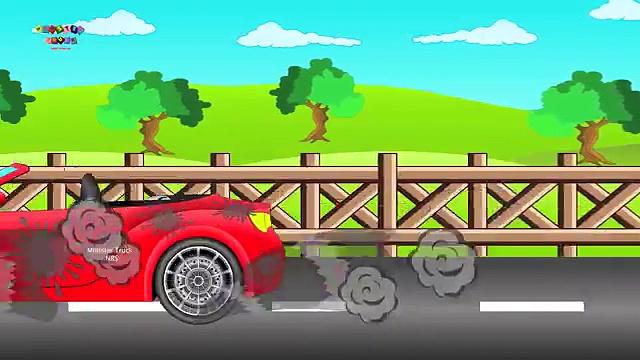 Sports Car | Cars | Cartoon Cars | Cars Race | Cars For Children