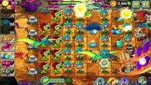 Plants Vs Zombies 2 - T .Rex La Brainsa Tarpits Endless Challenge Jurassic Marsh!