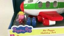 Kidschanel de PEPPA PIG JUGUETES AVIÓN VIDEO de PEPPA VA DE VACACIONES AVIÓN VACACIONES