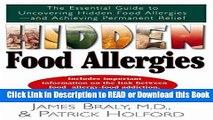 [PDF] Hidden Food Allergies: The Essential Guide to Uncovering Hidden Food Allergies-and Achieving
