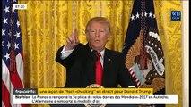 """États-Unis : Donald Trump traite une nouvelle fois cette nuit plusieurs médias """"d'ennemis des Américains"""""""