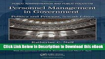 BEST PDF Personnel Management in Government: Politics and Process, Seventh Edition (Public