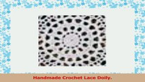 Handmade Crochet Lace Doily 100 Cotton Crochet White 12 Inch Round Four pieces  a094e46f