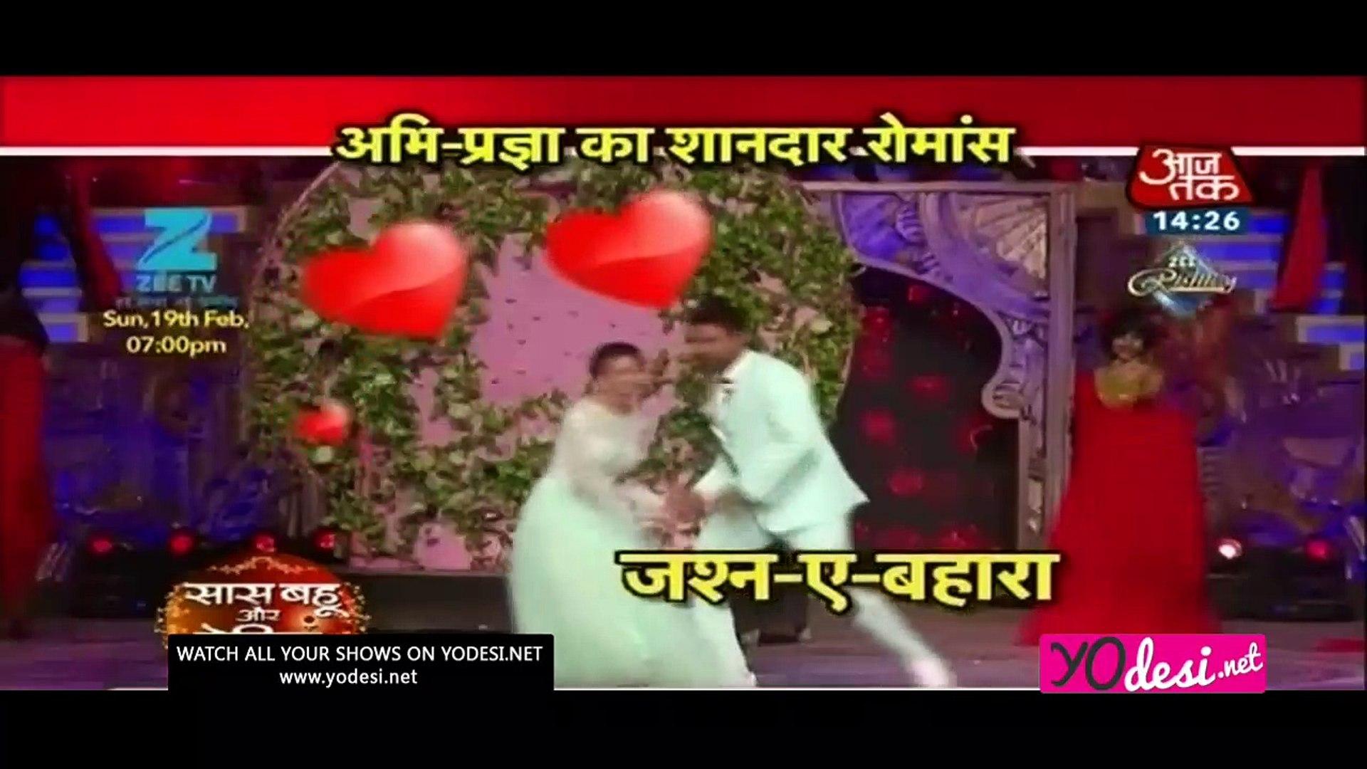 Abhi-Pragya Ka Love Suda!! - Zee Rishtay Award 18th February 2017