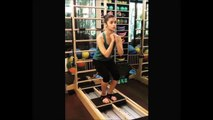 Bollywood Hot Actress Alia Bhatt Workouts in Gym