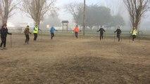 10 km du Parc paysager : départ de la marche nordique