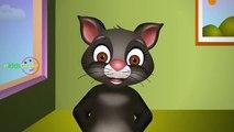 Rain Rain Go Away Nursery Rhyme With Lyrics - 3D Children Song Singing Tom Cat Rhymes