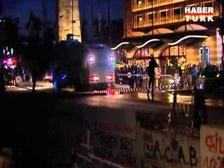 Gezi Parkı'na ilk müdahale anı
