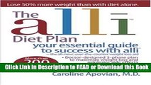 Books The alli Diet Plan  your essential guide to success with alli Read Online