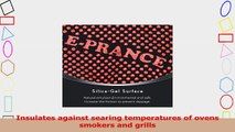 EPRANCE Grill Cooking Gloves Heat Resistant Oven Mitts for Grilling BBQ Kitchen 1 Pair 14 6bdafe10