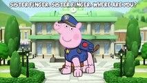 Peppa Pig & Paw Patrol Finger Family | Fancy Dress Animation Nursery Rhyme Song