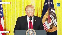 Most Memorable Moments From Trump's Epic Press Conference