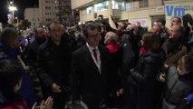 RCT-Lyon: l'arrivée des Toulonnais au Stade Mayol