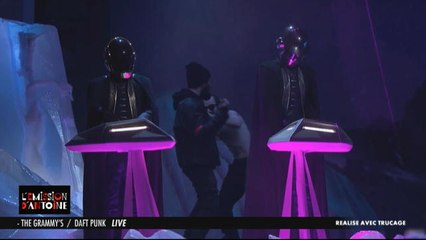 Les Hotus tapent l'incruste : Daft Punk sans leur casque !  - Émission d'Antoine du 18/02 - CANAL+