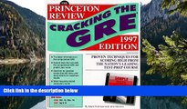 Download [PDF]  Cracking the GRE with Sample Tests on Computer Disks, 1997 ed (Annual) For Kindle