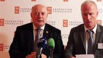 Tennis - FFT Bernard Giudicelli élu Président de la Fédération Française de Tennis et succède à Jean Gachassin