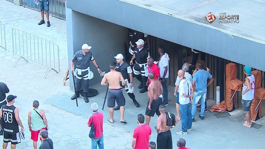 Suposto flamenguista faz provocação na Internet, vai assistir a partida na torcida do Vasco e acaba agredido