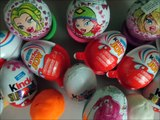 Kinder Joy Surprise Eggs Red Pink Yellow Green Blue Black Editions Unboxing Fun & Creative