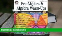 Audiobook  Pre-Algebra and Algebra Warm-Ups, Grades 5 - 12 For Ipad