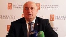 """Tennis - FFT - Bernard Giudicelli : """"Je vais rencontrer tous les salariés dévoués de la Fédération Française de Tennis"""""""