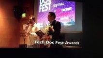 """Lea Jackson""- filmmaker of ""El Paquette "" wins Award for her film at ""Tech Doc Fest """