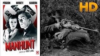 Man Hunt 1941  Walter Pidgeon, Joan Bennett, George Sanders Movie
